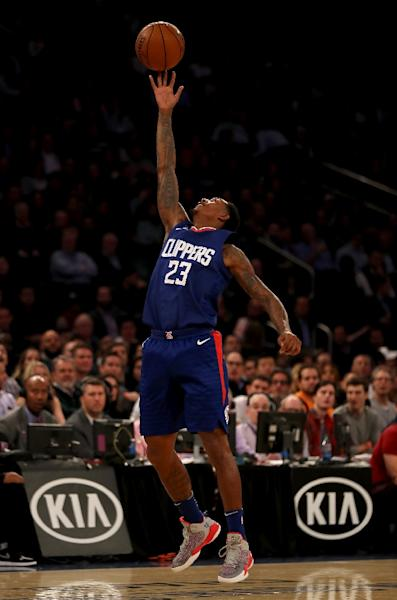 Lou Williams' three-pointer was the final dagger in the Los Angeles Clippers' wild 113-112 triumph over the Washington Wizards (AFP Photo/ELSA)