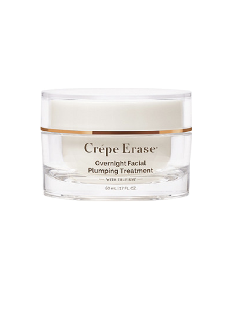 """<p><strong>Crepe Erase</strong></p><p>ulta.com</p><p><strong>$54.00</strong></p><p><a href=""""https://go.redirectingat.com?id=74968X1596630&url=https%3A%2F%2Fwww.ulta.com%2Fovernight-facial-plumping-treatment%3FproductId%3Dpimprod2004702&sref=https%3A%2F%2Fwww.oprahdaily.com%2Fbeauty%2Fg28640223%2Fbest-night-cream%2F"""" rel=""""nofollow noopener"""" target=""""_blank"""" data-ylk=""""slk:SHOP NOW"""" class=""""link rapid-noclick-resp"""">SHOP NOW</a></p><p>This night cream is different from other products, because it's so much more than a moisturizing lotion—it's actually a treatment, says <a href=""""https://vandykeaesthetics.com"""" rel=""""nofollow noopener"""" target=""""_blank"""" data-ylk=""""slk:Susan Van Dyke"""" class=""""link rapid-noclick-resp"""">Susan Van Dyke</a>, a board-certified dermatologist in Arizona. Though it does offer instant benefits, you'll see real, lasting results at the 30-day and 60-day marks, she says. </p>"""