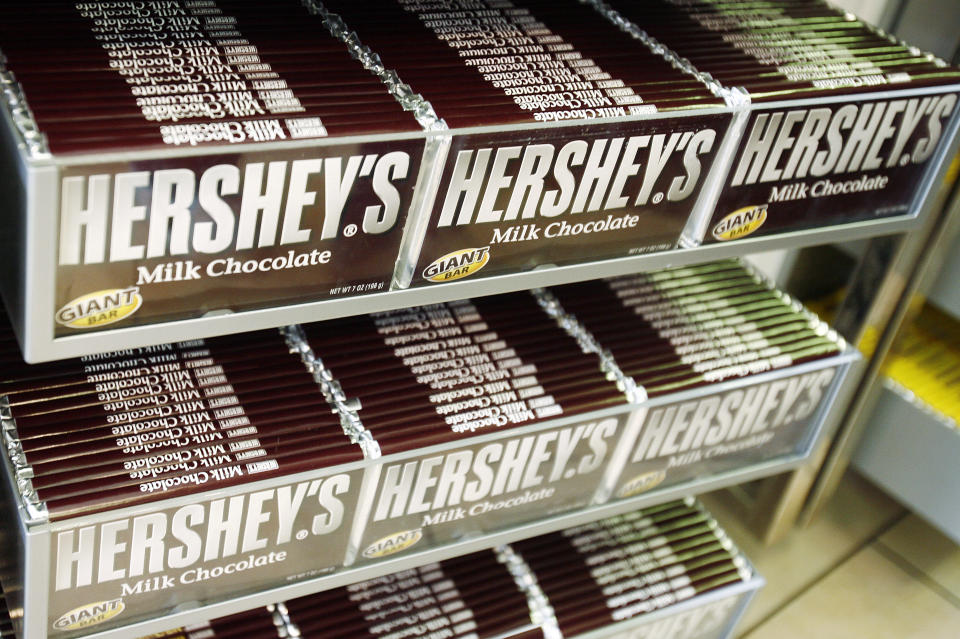 Chocolate is a pandemic favorite.  REUTERS/Shannon Stapleton (UNITED STATES)