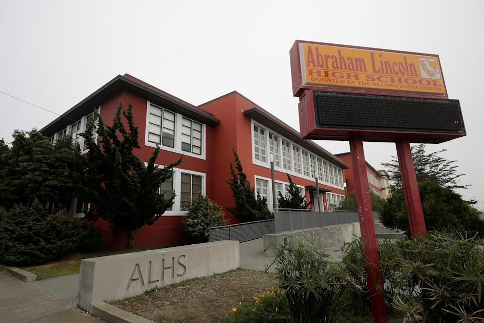 The San Francisco School Board has voted to rename 44 school sites new names with no connection to slavery, oppression, racism or similar criteria, including Abraham Lincoln High School.