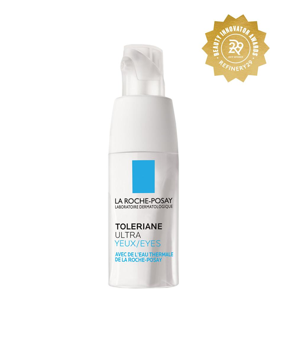 """<h2>La Roche-Posay Toleriane Ultra Eyes<br></h2>Spring water and niacinamide are the key players in this all-star eye cream, which is like a surge of moisture for super-dry skin. <br> <br> <strong>La Roche-Posay</strong> La Roche-Posay Toleriane Ultra Eye Cream Soothing Moisturizer For Sensitive Skin - 0.67 fl oz, $, available at <a href=""""https://www.target.com/p/la-roche-posay-toleriane-ultra-eye-cream-soothing-moisturizer-for-sensitive-skin-0-67-fl-oz/-/A-75562167#locklink"""" rel=""""nofollow noopener"""" target=""""_blank"""" data-ylk=""""slk:Target"""" class=""""link rapid-noclick-resp"""">Target</a>"""