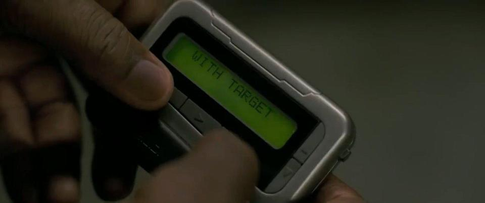 Nick Fury's pager in Captain Marvel (credit: Marvel Studios)