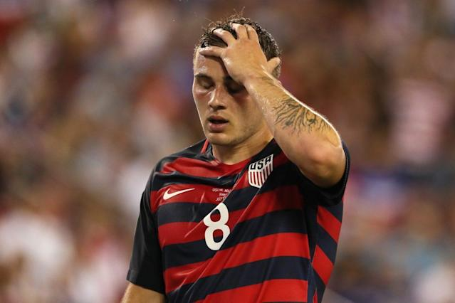 "<a class=""link rapid-noclick-resp"" href=""/soccer/players/jordan-morris/"" data-ylk=""slk:Jordan Morris"">Jordan Morris</a> was great, but the USMNT was fortunate to beat Martinique. Yes, Martinique. (Getty)"