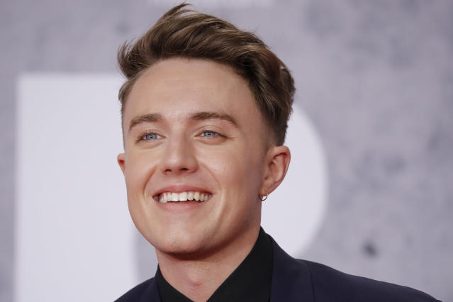 British radio presenter Roman Kemp poses on the red carpet on arrival for the BRIT Awards 2019 in London on February 20, 2019. TOLGA AKMEN/AFP via Getty Images