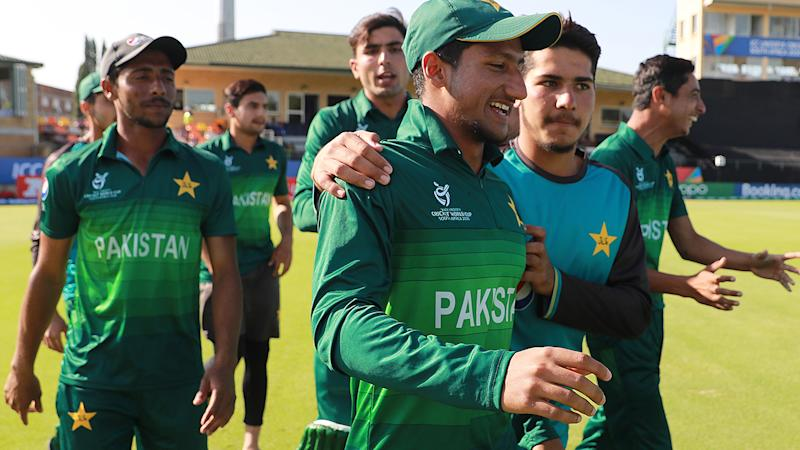 Pakistan, pictured here celebrating their win over Afghanistan.