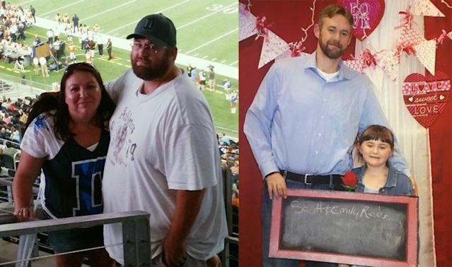 Scott Rees's family motivated him to continue his weight loss journey. (Photos: Scott Rees)