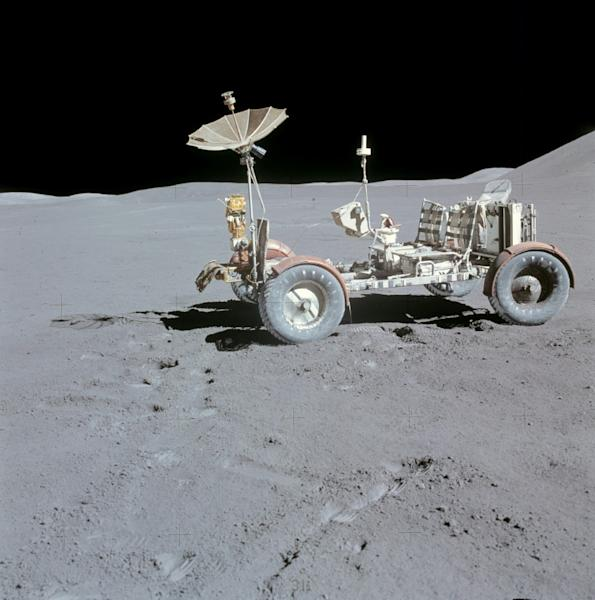 There's nothing stopping future space tourists from approaching historic lunar rovers (AFP Photo/Handout)