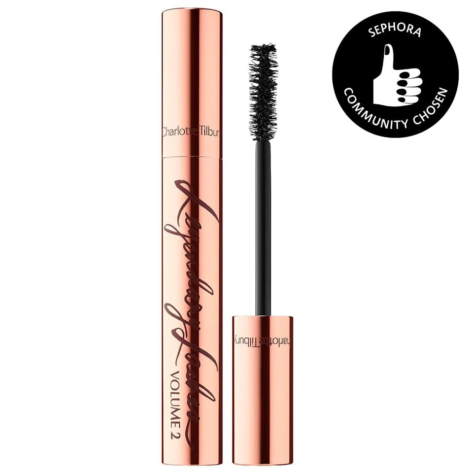 <p>You'll look like you're wearing falsies with just a couple layers of this <span>Charlotte Tilbury Legendary Lashes Volume 2 Mascara</span> ($32).</p>