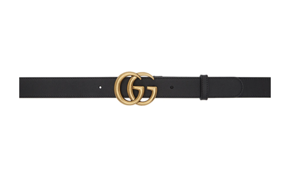 Gucci GG Belt. (PHOTO: SSense)