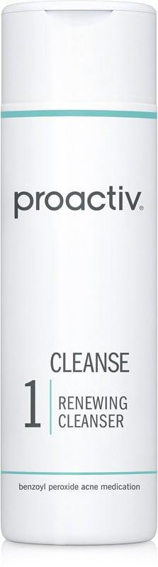 <p>For those who prefer benzoyl peroxide, which kills acne-causing bacteria and temporarily decreases oil, the <span>Proactiv Renewing Cleanser </span> ($25) is a reliable pick with many devoted users.</p>