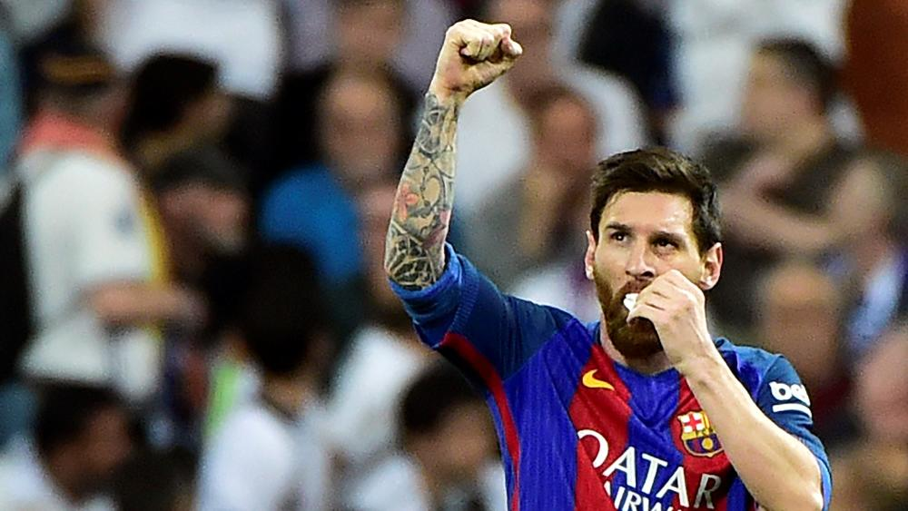 Lionel Messi Real Madrid Barcelona LaLiga 23042017