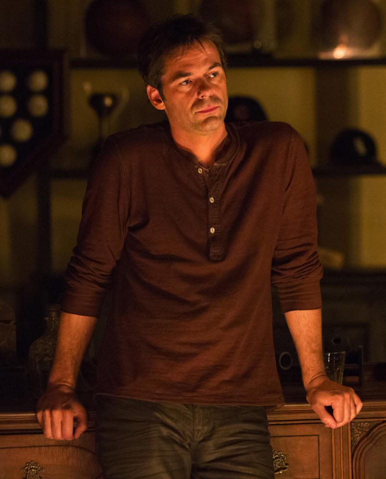 "Billy Burke stars as Miles Matheson in ""Revolution"" on NBC."