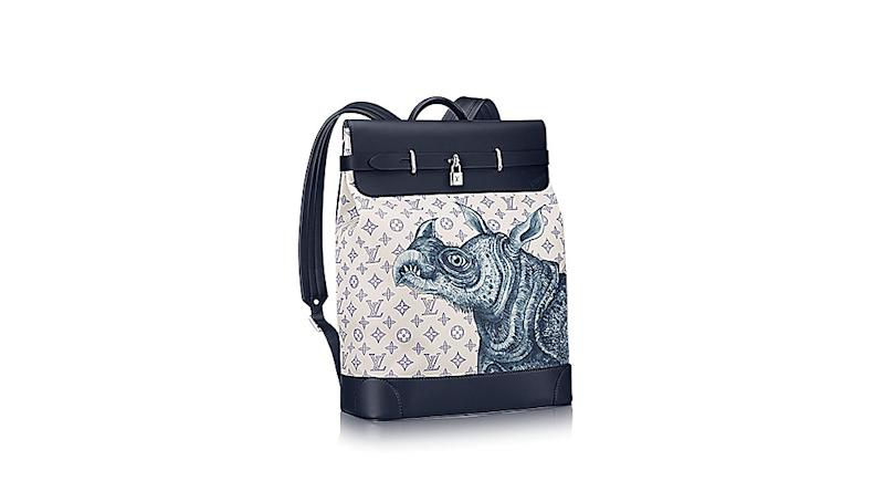 French marque Louis Vuitton has long been known for spicing up its classic, LV-monogrammed bags with splashy graphics from some high-profile—and often controversial—contemporary artists.