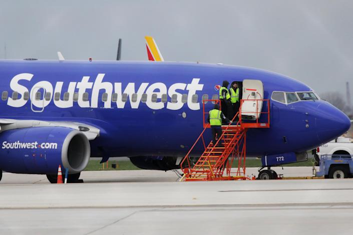 The death of a passenger on a Southwest Airlines flight has sparked flying fears on social media. (Photo: Getty Images)