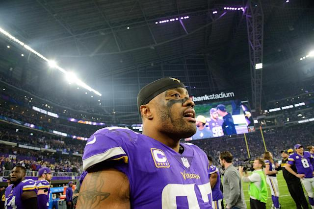 <strong>Drew Magary</strong> on how the NFL is spinning the Vikings defensive end's recent mental-health breakdown.