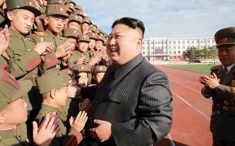 North Korean leader Kim Jong-Un is reportedly 'nervous' about being assassinated - Credit: AFP