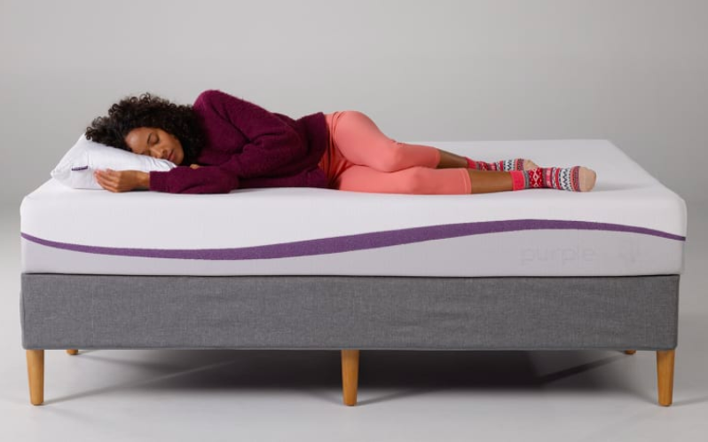 Sleep like a baby on the Purple Hybrid Premier. (Photo: Purple.com)