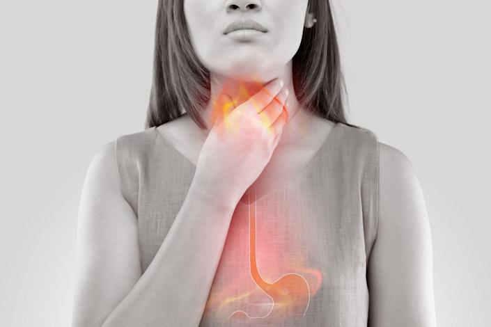 """<p><a href=""""https://www.prevention.com/health/a20447371/9-causes-of-a-sore-throat/"""" rel=""""nofollow noopener"""" target=""""_blank"""" data-ylk=""""slk:Ouch."""" class=""""link rapid-noclick-resp"""">Ouch.</a></p>"""