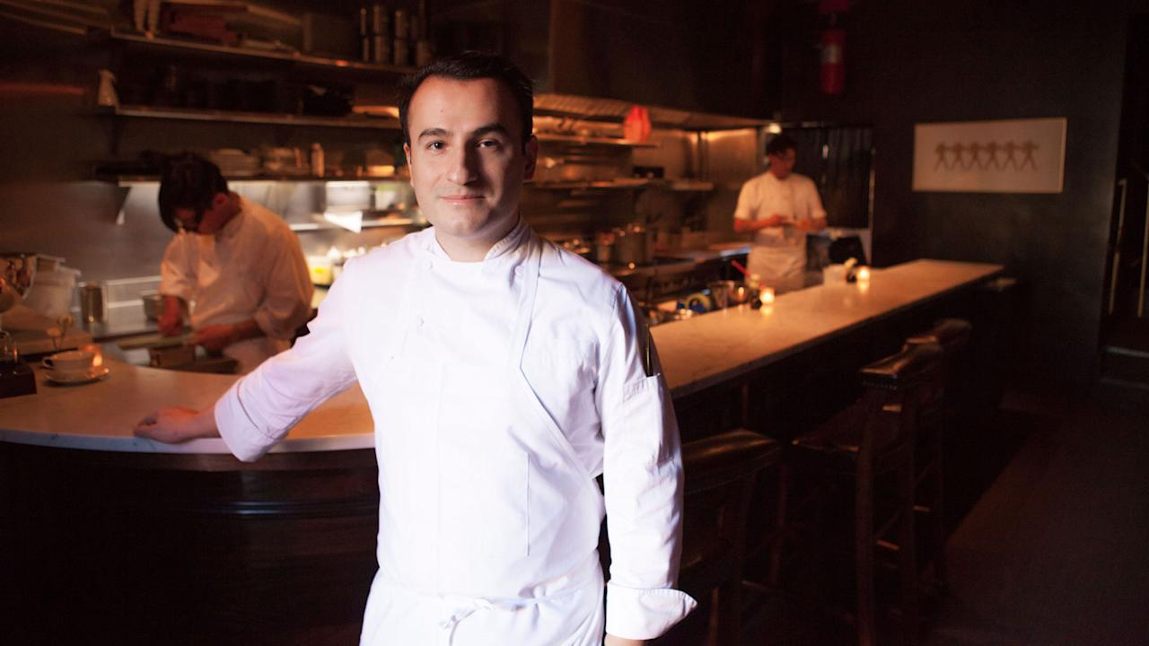 """<p>Chef Val M. Cantu has forgotten more about America's history with our neighbors to the south than most of us might ever know. Take, for example, the name of his <a rel=""""nofollow"""" href=""""http://www.californiossf.com/"""">restaurant</a>—it references a term for Californians of Spanish and Mexican descent, back when San Francisco was still part of Mexico. If this all sounds pretty cerebral, then you're on the right track. Val isn't the kind of chef who talks about his food in simple sound bites; in fact, he's not the kind of chef who likes to talk about his food much at all—so it's a good thing it speaks for itself. If you've ever wondered what Thomas Keller's iconic, caviar-topped """"oysters and pearls"""" dish might look like in a Mexican context, consider Val's <em>tres frijoles</em>—three different preparations of <a rel=""""nofollow"""" href=""""http://www.foodandwine.com/slideshows/best-napa-valley-wineries-visit"""">Napa</a>- and Mexican-grown beans topped with a spoonful of hackleback roe and specks of gold leaf. Like everything else on Val's dazzling tasting menu, this dish delivers Mexican ideas with a NorCal charisma that's uniquely his own.</p>"""