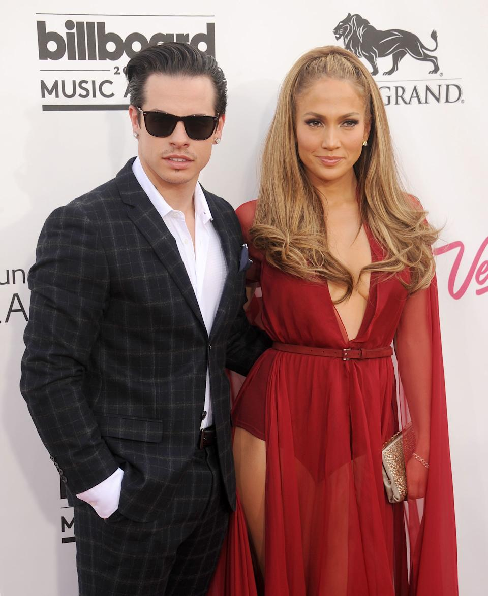 Determined not to let anyone paint her as a victim, J-Lo bounced back from her split with Marc Anthony by getting together with a far younger man.<br /><br />Nice one, Jen.