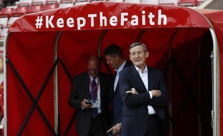 Britain Football Soccer - Sunderland v Manchester United - Premier League - Stadium of Light - 9/4/17 Sunderland owner Ellis Short before the match Reuters / Russell Cheyne Livepic