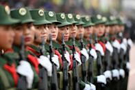 The United Wa State Army has 25,000 troops in one of the world's largest non-state armies