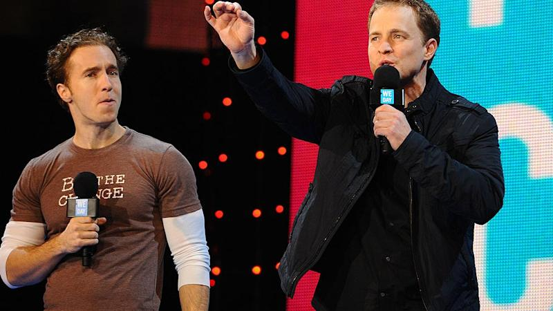 WE Charity co-founders Craig and Marc Kielburger