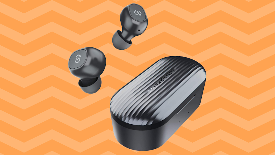 Would we lie to you about SoundPEATS True Wireless Earbuds? We think not. (Photo: Walmart)