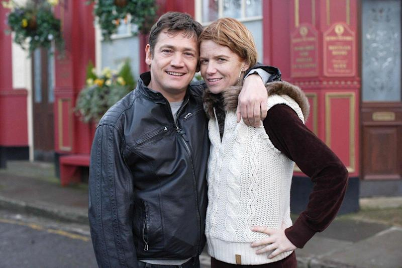Owen is best known for his role as Ricky Butcher in EastEnders(PA)