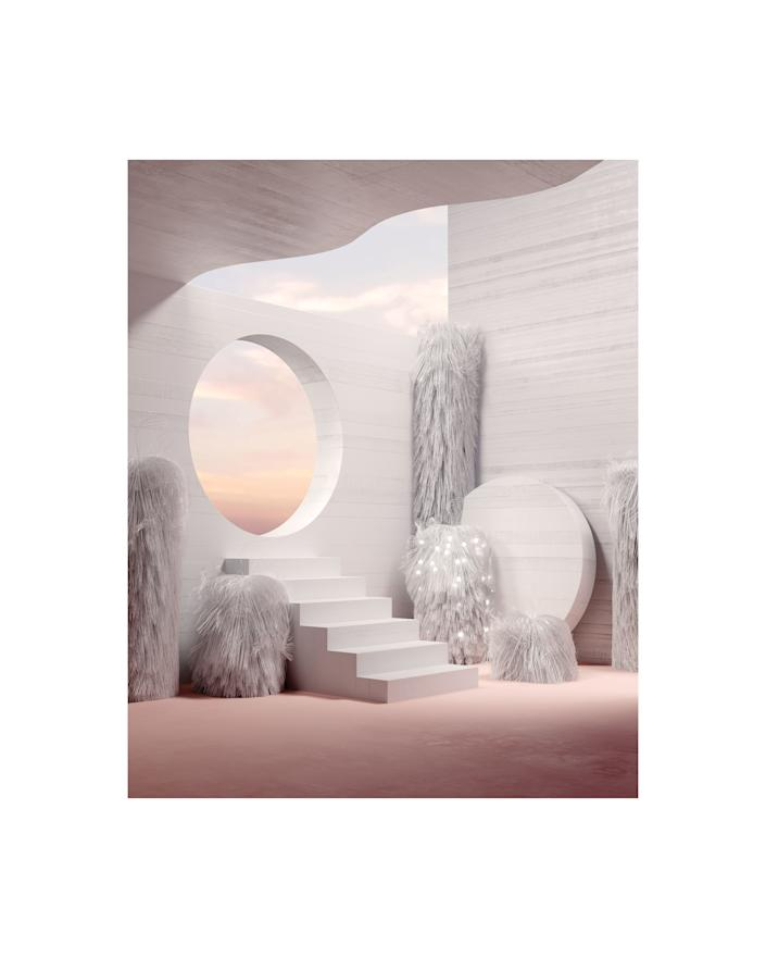 """""""I hope you can enter into my rooms and feel as peaceful as I was when I created them,"""" artist Andres Reisinger tells Spacey. SHOP NOW: There Are No Branches Without Trees by Andres Reisinger, from $95, spaceystudios.com"""