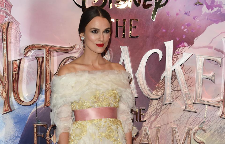 The English actress is now starring in another Christmas movie, The Nutcracker and the Four Realms. Source: Getty