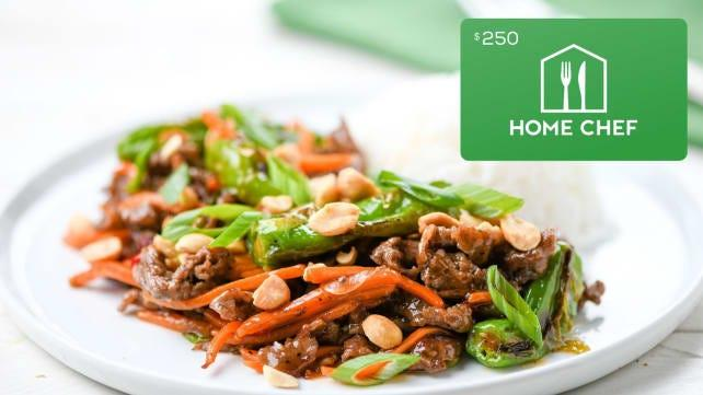 Best kitchen gifts: Home Chef Gift Card