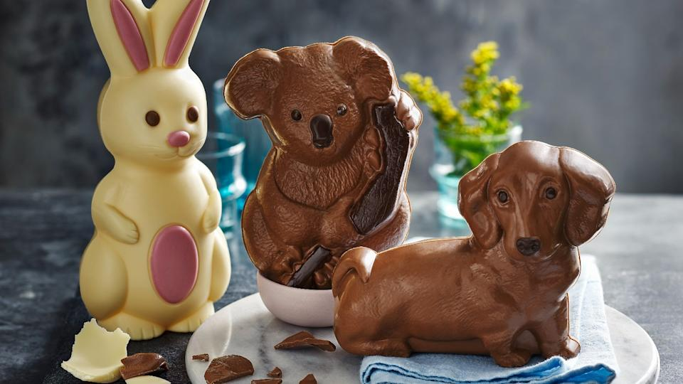 M&S Bella Bunny, Kylie Koala and Walter the Sausage Dog Easter eggs, all £5