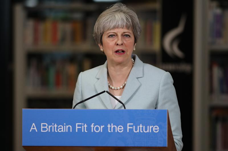 <strong>Theresa May.</strong> (PA Wire/PA Images)