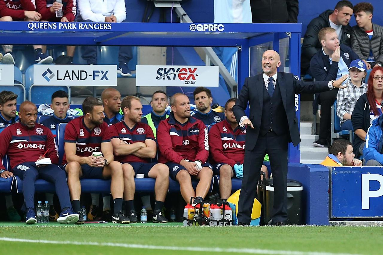 QPR boss Ian Holloway 'loving' his side after Hull City win