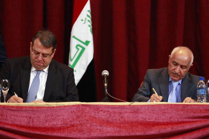 Iraq official: Exxon Mobil wants out of big field