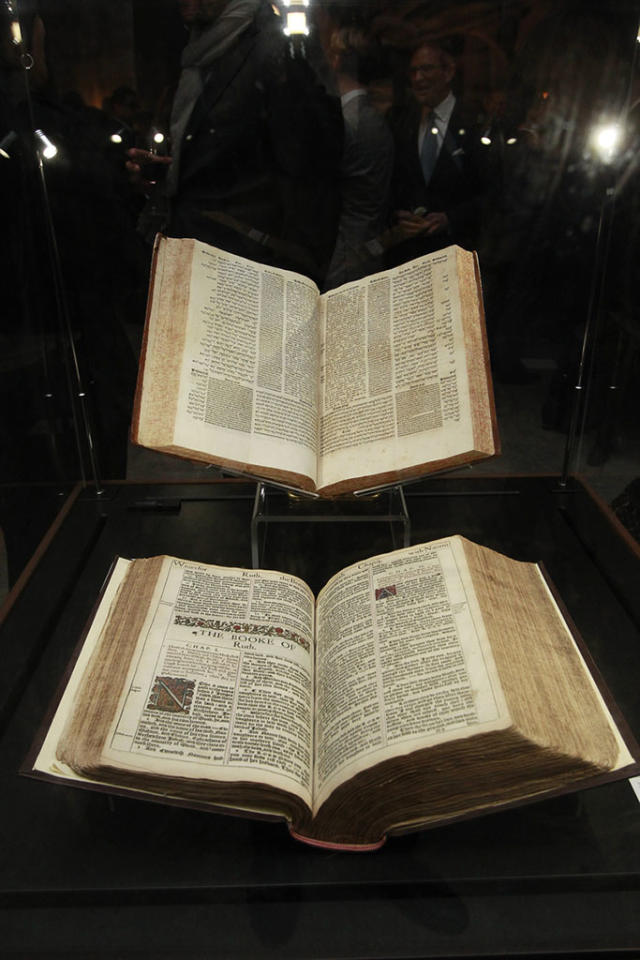 """""""The Bible Experience"""" opening night gala, a rare exhibit of biblical artifacts, in New York City on Tuesday, March 19 in New York."""
