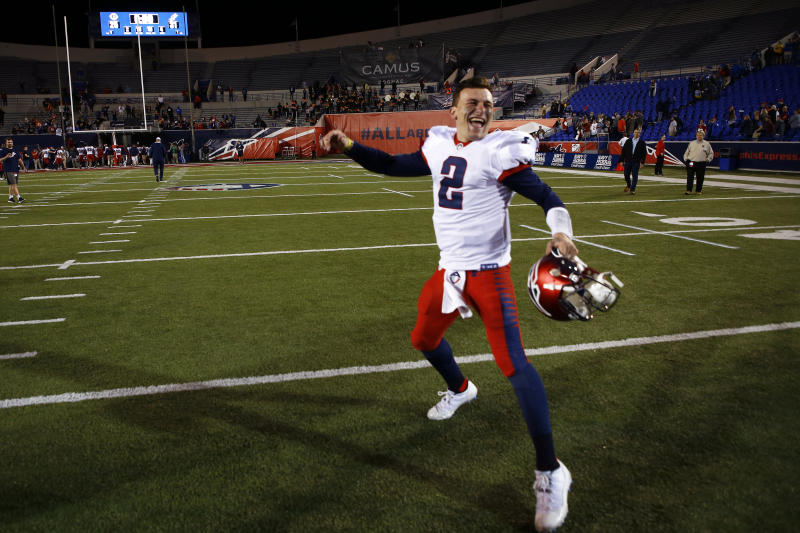 Johnny Manziel answered plenty of random questions in an AMA on Monday, and didn't rule out a return to football in the XFL next year.
