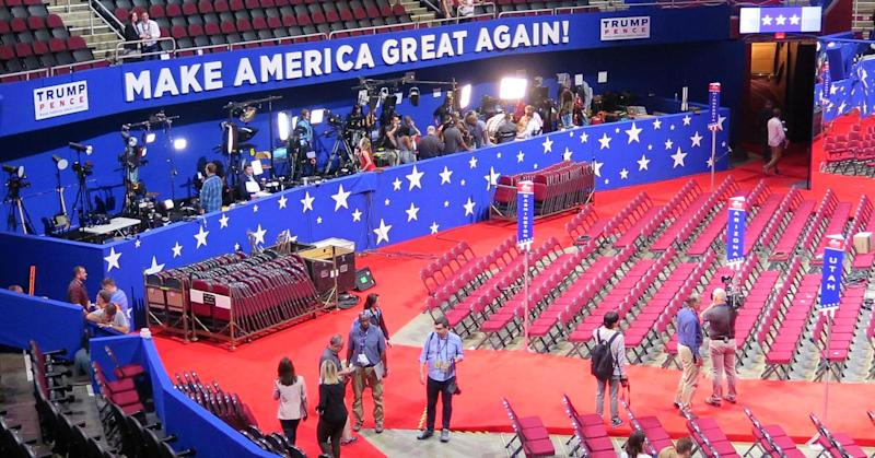 Trump's 'Make America Great Again' motto could fall flat for Cleveland