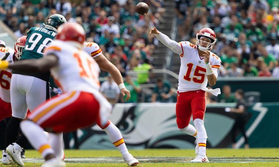Just another week of excellence for Patrick Mahomes