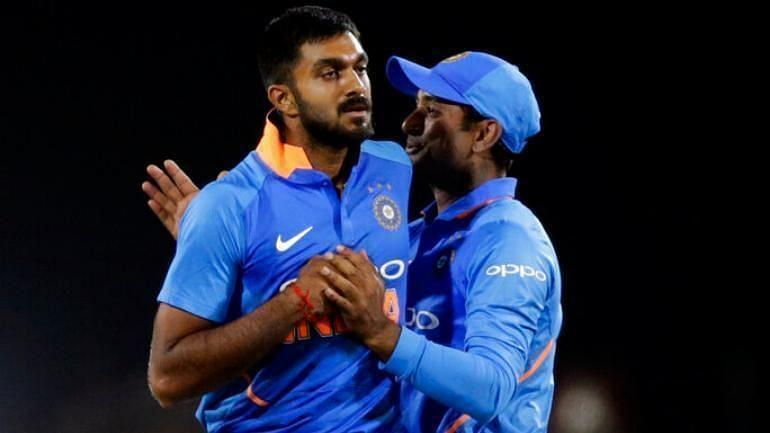 Vijay Shankar pipped Ambati Rayudu to the spot in the Indian squad for the 2019 World Cup