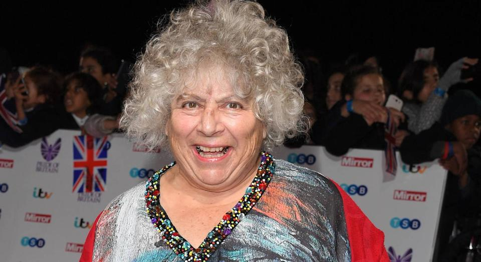Miriam Margolyes opened up about her body confidence. (Getty Images)