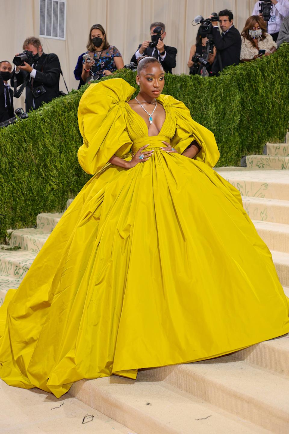 Normani at the 2021 Met Gala.