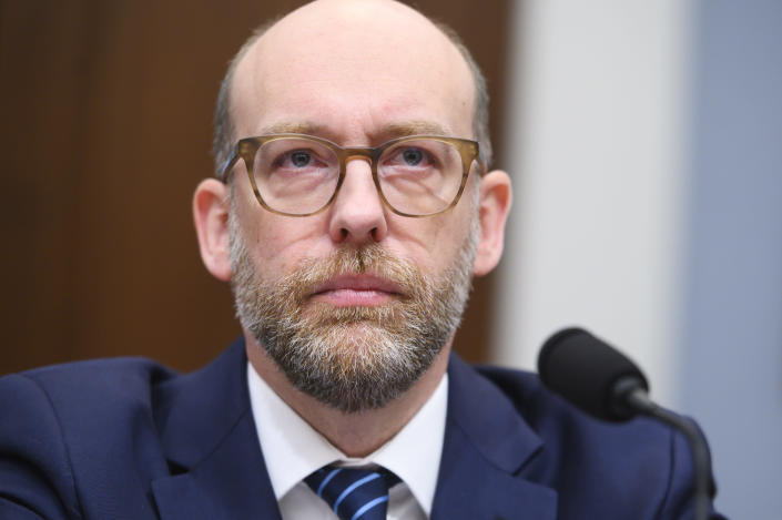 Russell Vought, acting director of the Office of Management and Budget. (Tom Williams/CQ-Roll Call via Getty Images)