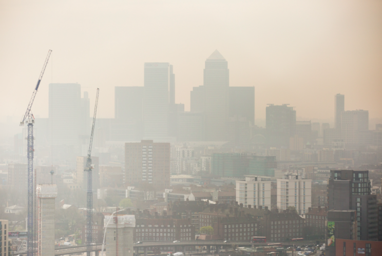 Smog: Exercising in polluted cities like London could be bad for you (Rex)