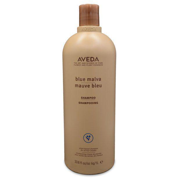 """<p><strong>Aveda</strong></p><p>amazon.com</p><p><strong>$55.95</strong></p><p><a href=""""https://www.amazon.com/dp/B0016JDLO6?tag=syn-yahoo-20&ascsubtag=%5Bartid%7C10055.g.37068674%5Bsrc%7Cyahoo-us"""" rel=""""nofollow noopener"""" target=""""_blank"""" data-ylk=""""slk:Shop Now"""" class=""""link rapid-noclick-resp"""">Shop Now</a></p><p>Unlike many blue shampoos, this formula <strong>creates a white lather, so you don't have to worry about the product staining your shower</strong> (or your hands). This formula is also great for anyone hoping to grow out their grays. """"A big plus is how healthy my hair is now,"""" one reviewer says. """"I definitely recommend Blue Malva to anyone transitioning to natural silver hair.""""</p>"""