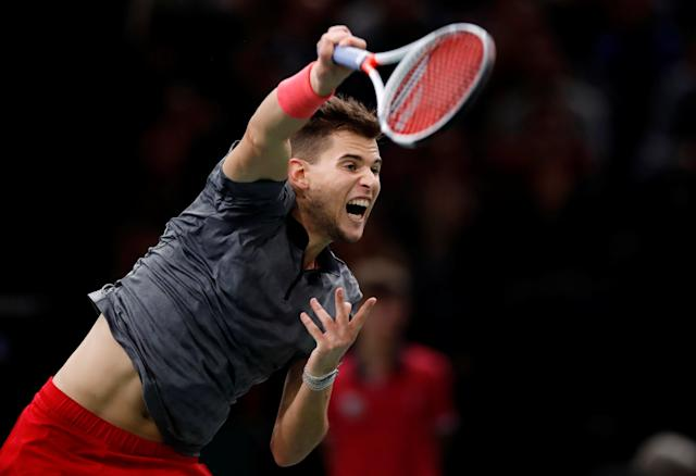 <p>Born 3 September 1993 (age 25) in Wiener Neustadt, Austria<br>185cm (6ft 1in)<br>2018 record: 53-18 (74.6%)<br>Career high: No.4<br>11 career titles<br>Twitter followers: 109k<br>Instagram: 516k<br>Fun fact: Between November 2014 and April 2015, he completed the military service that is compulsory in Austria, didn't miss any ATP events and won first career title the following month<br>(Photo source: Reuters) </p>
