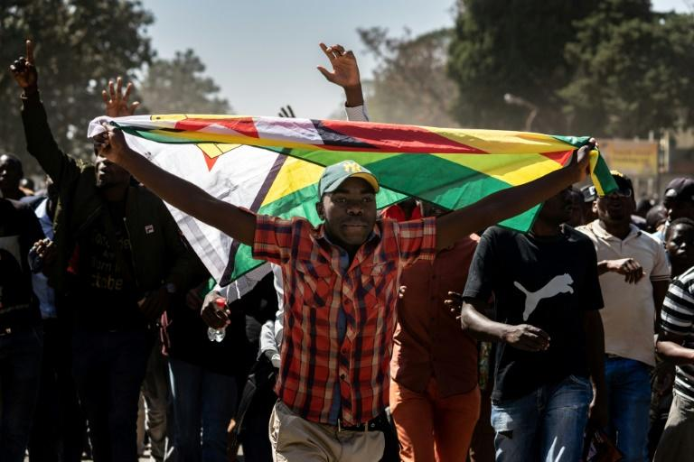 Zimbabwe's opposition has warned of more demonstrations this year to force political and economic change