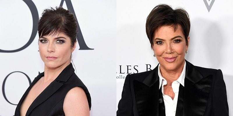 <p>Selma Blair was cast to play a young Kris Jenner in <em>The People Vs. O.J. Simpson—</em>probably because the women both have close set light brown eyes and a similar complexion. </p>