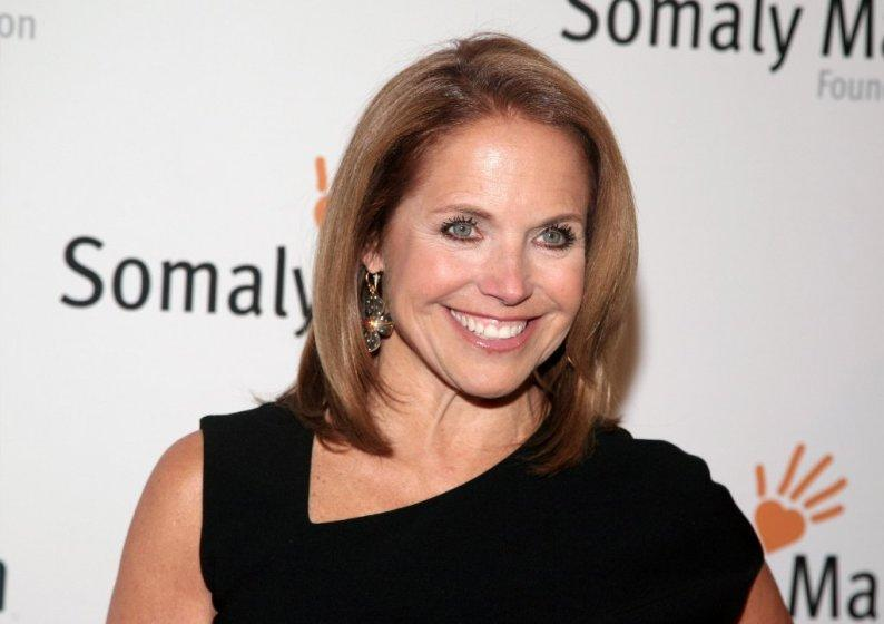 Katie Couric, now promoting the anti-vaccine movement.